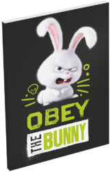 blok A6 čistý lep.bok The Secret Life of  Pets Bunny 16441703