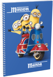 blok A5 70l linka spirála bok Minions London 16443305
