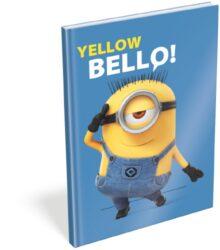 záznamní kniha L A5 čistá Minions Bello 16445201