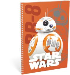 blok A5 70l linka spirála bok Star Wars 7 BB-8 16446307