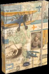 box na sešity A4 Vintage Par Avion 17452003