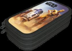 penál 3 patra prázdný Star Wars Classic Droids 17506308