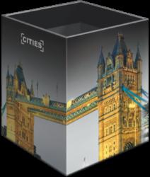 stojánek  na tužky hranatý Cities London 18556601