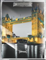 podložka A4 s klipem Cities London 18557701