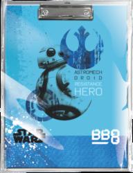 podložka A4 s klipem Star Wars 8 BB-8 18558102