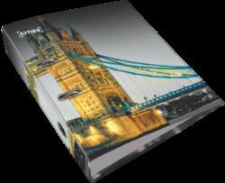 pořadač pákový A4 LIZZY 7,5cm Cities London 18569001