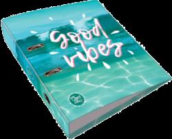 pořadač pákový A4 LIZZY 7,5cm Good Vibes Ocean 18569104