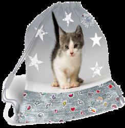 sáček na cvičky Pet Fluff Kitten 19625213