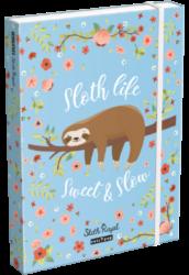 box na sešity A4 Lollipop Sloth Royal 19628238