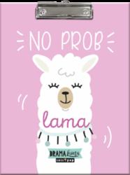 podložka A4 s klipem Lollipop Drama Lama Pink 19635841