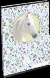 sešit A4 32l linka Wild Beauty White 19647504-PRODEJ POUZE PO BALENÍ