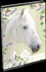 sešit A5 32l linka Wild Beauty White 19657801