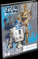 sešit A5 32l linka Star Wars Heroes Droids 19658401-PRODEJ POUZE PO BALENÍ