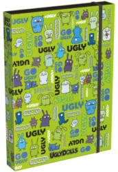 box na sešity A4 Ugly Dolls Green 19662002