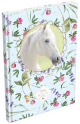 žzáznamní kniha Lizzy A5 čistá Wild Beauty White 19678101