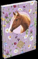 záznamní kniha Lizzy A5 čistá Wild Beauty Brown 19678203