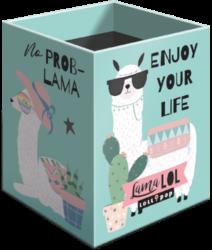 stojánek  na tužky hranatý Lollipop Lama LOL 20732247