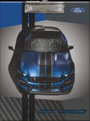 podložka A4 s klipem Ford Mustang Blue 20735303