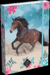 box na sešity A4 Wild Beauty Blue 20763906