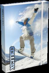 box na sešity A5 X-cited Snowboard 20766908