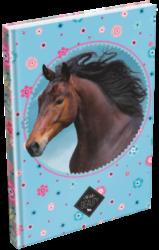 záznamní kniha Lizzy A5 čistá Wild Beauty Blue 20778506