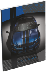 blok A7 Ford Mustang Blue 20779303