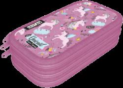 penál 3 patra prázdný Lollipop Uni-cool 20783646