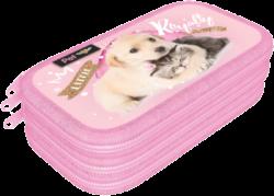 penál 3 patra prázdný Little Friends Pink 20783901