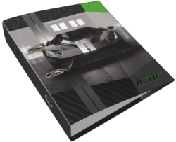 pořadač pákový A4 LIZZY 7,5cm Ford GT Green 20799508