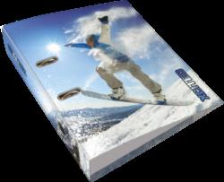 pořadač pákový A4 LIZZY 7,5cm X-cited Snowboard 20799708