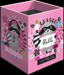 stojánek  na tužky hranatý Lollipop Raccoon 21853052