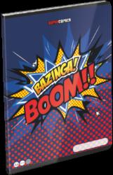 sešit A4 32l linka Supercomics Bazinga 21861101-PRODEJ POUZE PO BALENÍ