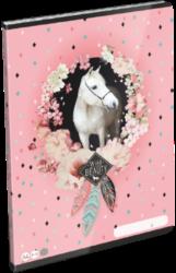 sešit A4 32l linka Wild Beauty Rose 21861608-PRODEJ POUZE PO BALENÍ
