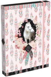 box na sešity A4 Wild Beauty Rose 21871908