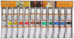 barvy olejové 12ks 12ml 170-1915*
