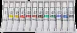 žbarvy akrylové 12ks 12ml 170-1910-akrylové barvy základní