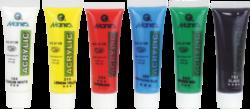 barvy akrylové  6ks 30ml 170-2153-akrylové barvy základní
