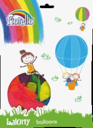 balónky 100ks Fiorello neon mix 170-1604