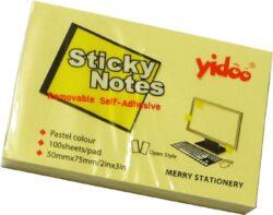 notes   Y  50 x 75-100 listů