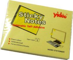notes   Y 100 x 75-100 listů