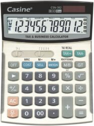 kalkulačka Casine CSN-382-OBCHODNÍ KALKULAČKA, 12 mist