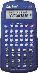 kalkulačka Casine CS-212 modrá-229 funkcí, plastový kryt