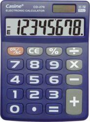 kalkulačka Casine CD-276 modrá-8 míst, velká tlačítka, modrá