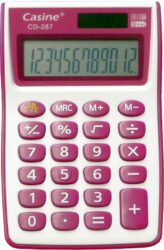 kalkulačka Casine CD-287 fialová-12 míst, fialová