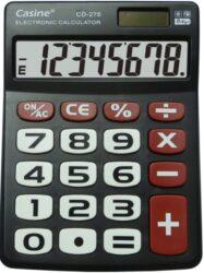 kalkulačka Casine CD-276 černá-8 míst, velká tlačítka, černá