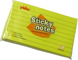 notes   Y linka neon 125 x 75 žlutý-100 listů