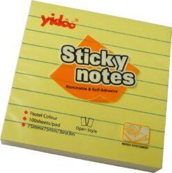 notes   Y linka  75 x 75-100 listů