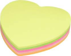 notes   Y neon  srdce mix barev 100l(6957723445059)