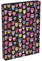 box na sešity A5 Lollipop Dark Owl 17340222