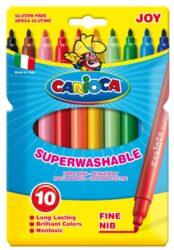 popisovače  Carioca Joy  10ks-síla hrotu: 2 mm ventilační chránítko